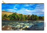 Raging River Carry-all Pouch by Robert Bales
