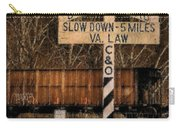Rail Crossing Carry-all Pouch