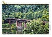 Railroad Bridge At East Falls Philadelphia Carry-all Pouch