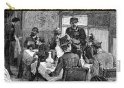 Railroad: Dining Car, 1880 Carry-all Pouch by Granger