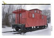 Railroad Train Red Caboose Carry-all Pouch