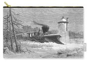 Railway Snow Plough, 1862 Carry-all Pouch
