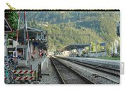 Railway Station West Interlaken Switzerland Carry-all Pouch