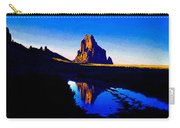 Rain At Shiprock Carry-all Pouch