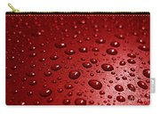 Rain Drops Bloody Red  Carry-all Pouch