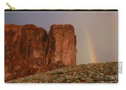 Rainbow And Red Rock Carry-all Pouch