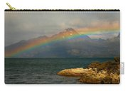 Rainbow At The End Of The World  Carry-all Pouch
