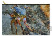 Rainbow Crab Carry-all Pouch