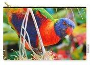 Rainbow Lorikeet 2am-8374 Carry-all Pouch