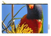 Rainbow Lorikeet Pose Carry-all Pouch