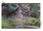 Rainbow Of The Season And River Over Rocks Carry-all Pouch by Heather Kirk