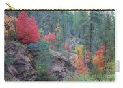 Rainbow Of The Season Carry-all Pouch by Heather Kirk