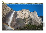 Rainbow On Bridalveil Fall Carry-all Pouch