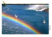 Rainbow On Niagara Falls Carry-all Pouch