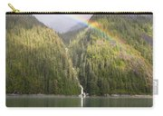 Rainbow Over Forest, Endicott Arm Carry-all Pouch