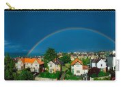 Rainbow Over Housing, Monkstown, Co Carry-all Pouch
