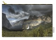 Rainbow Over The Valley Carry-all Pouch