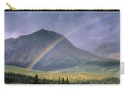 Rainbow Over Willmore Wilderness Park Carry-all Pouch