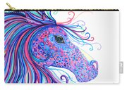 Rainbow Spotted Horse Carry-all Pouch