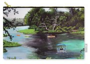 Rainbow Springs In Florida Carry-all Pouch
