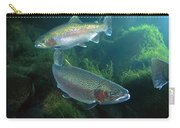 Rainbow Trout Oncorhynchus Mykiss Pair Carry-all Pouch