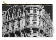 Rainbows And Architecture In Black And White Carry-all Pouch