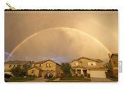 Rainbows Over Suburbia 1 Carry-all Pouch