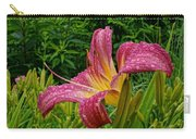 Raindrops On Lilly Carry-all Pouch