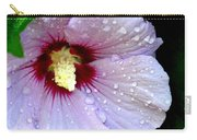 Raindrops On Roses Of Sharon Carry-all Pouch