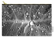 Raindrops On Taro Leaf Carry-all Pouch