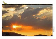 Rainey Sunset Carry-all Pouch