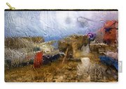 Rainy Day Abstract 3 Carry-all Pouch