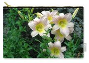Rainy Day Day Lilies Carry-all Pouch