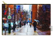Rainy Day Feeling Carry-all Pouch by Bill Cannon