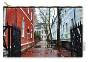 Rainy Philadelphia Alley Carry-all Pouch by Bill Cannon