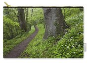 Ramsons By Path In Woods, County Louth Carry-all Pouch