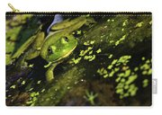 Rana Clamitans Or Green Frog Carry-all Pouch