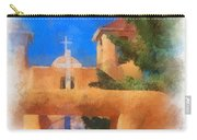 Ranchos Church Gate - Aquarell Carry-all Pouch