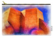 Ranchos Nave - Watercolor Carry-all Pouch