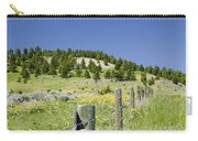 Rangeland Wild Flowers Carry-all Pouch