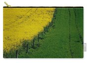 Rapeseed Growing In A Field, Ireland Carry-all Pouch