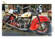Rare Indian Motorcycle Carry-all Pouch