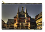 Rathaus At Wernigerode Carry-all Pouch