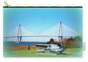 Ravanel Bridge At Patriot Point Charleston Sc Carry-all Pouch