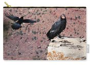 Raven Harassing Condor Carry-all Pouch