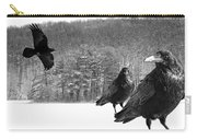 Ravens By A Woods Carry-all Pouch