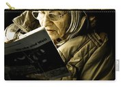 Reading Is Lifetime Passion Carry-all Pouch