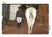 Ready For The Dressage Lesson Carry-all Pouch