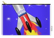 Really Cool Rocket In Space Carry-all Pouch