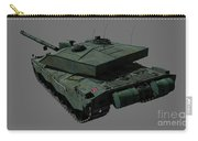 Rear View Of A British Challenger II Carry-all Pouch by Rhys Taylor